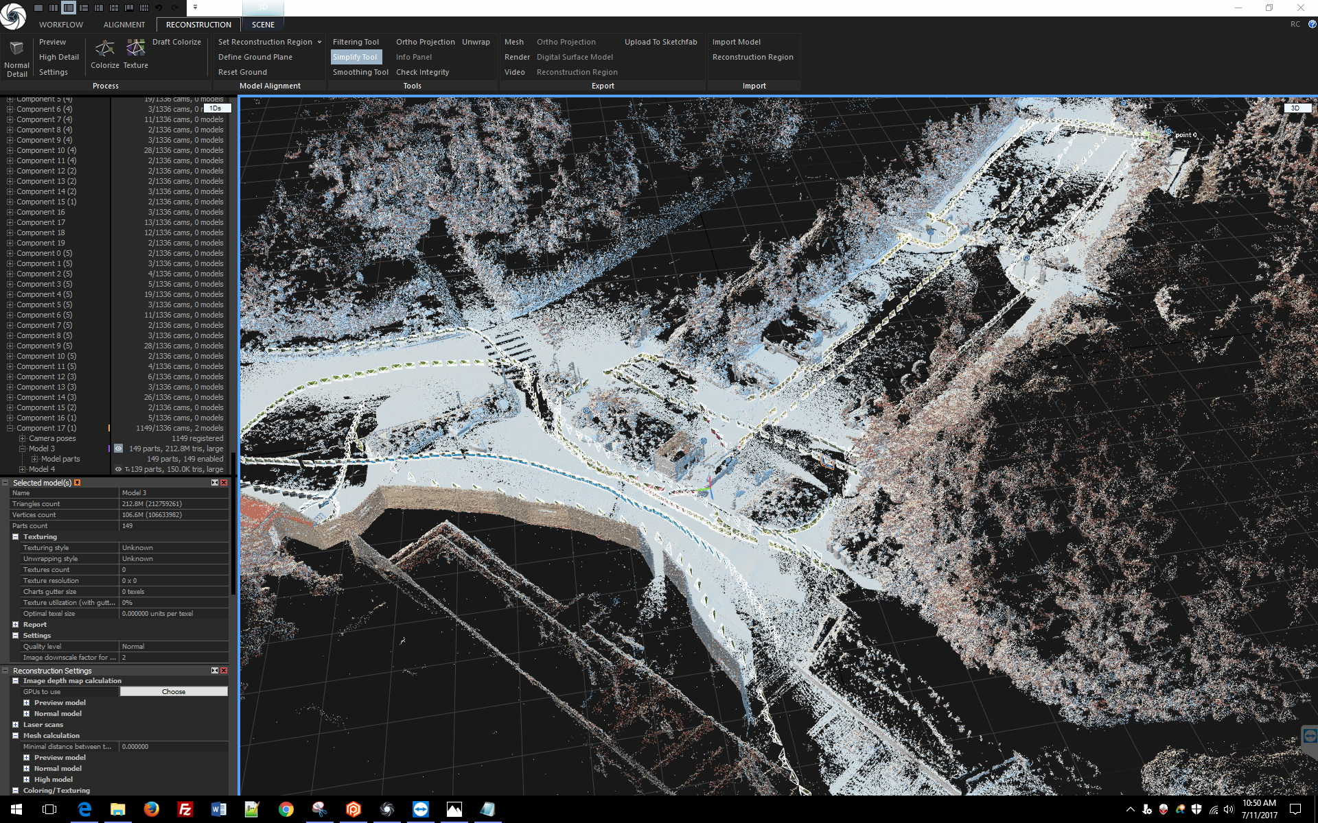 photogrammetry data example