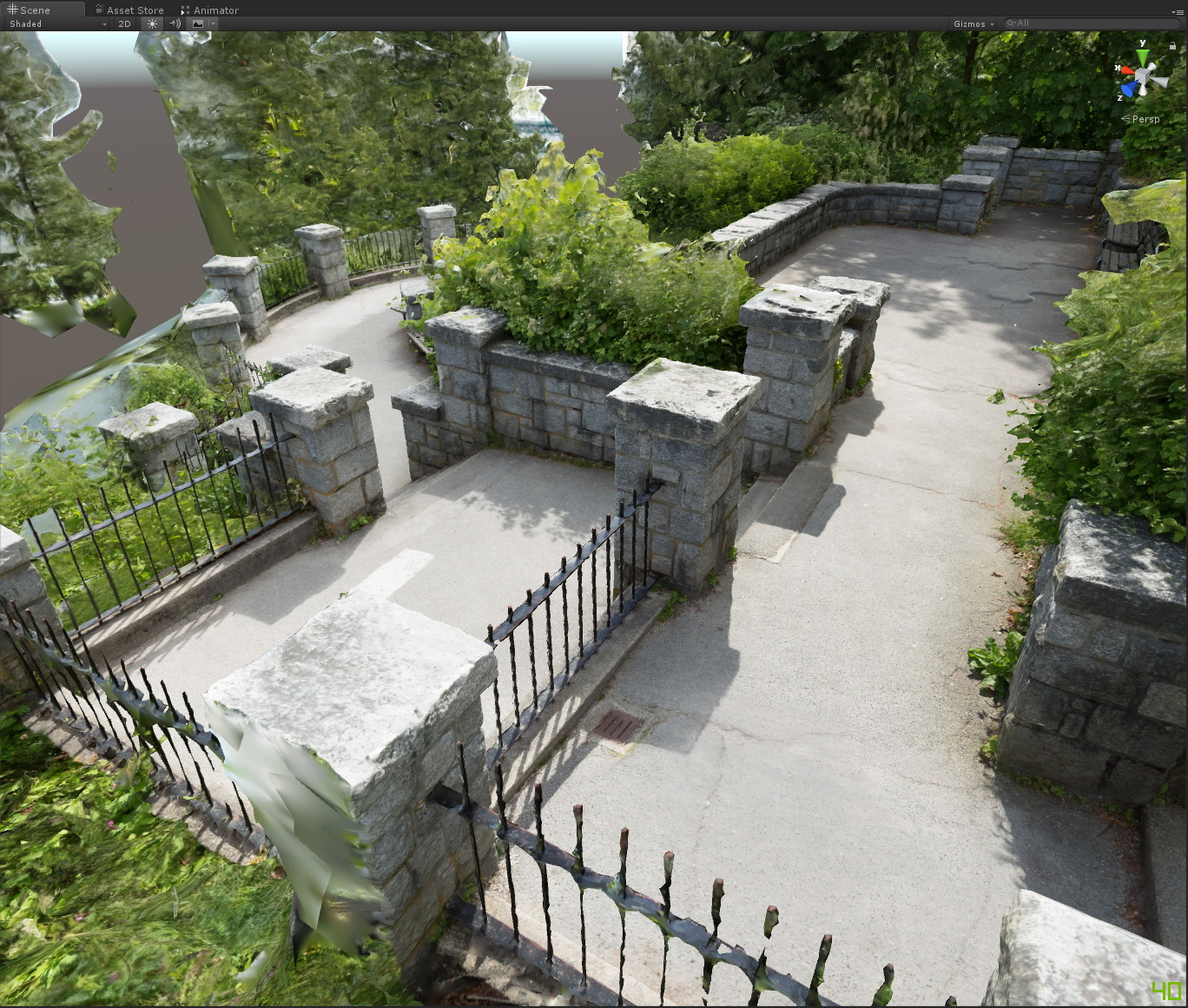 photogrammetry outdoors