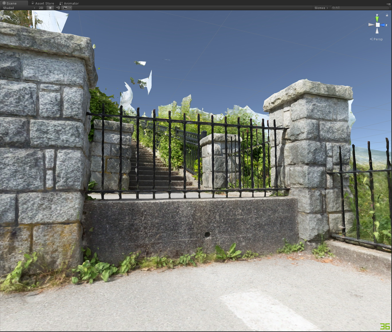 photogrammetry results