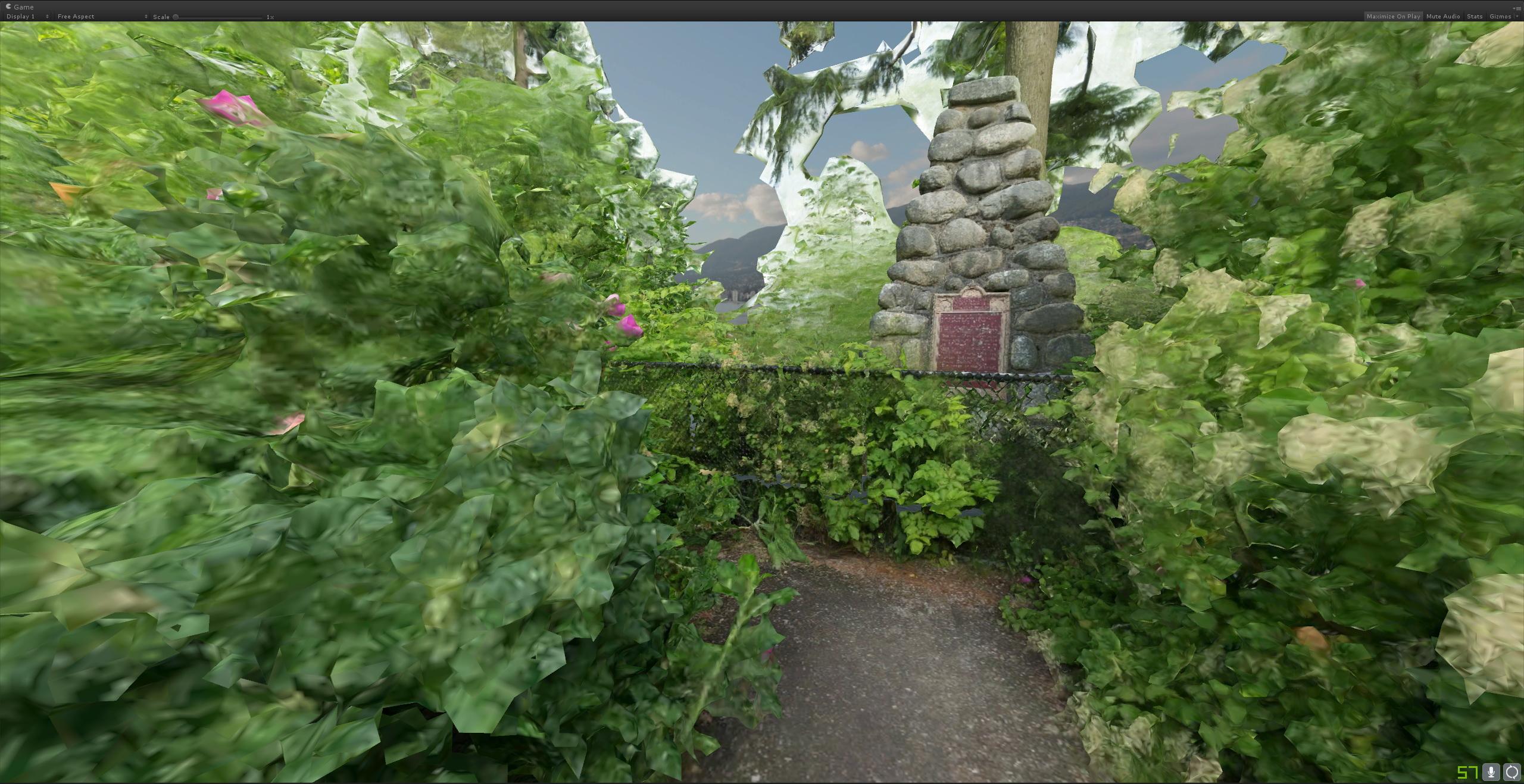 photogrammetry model virtual reality trees