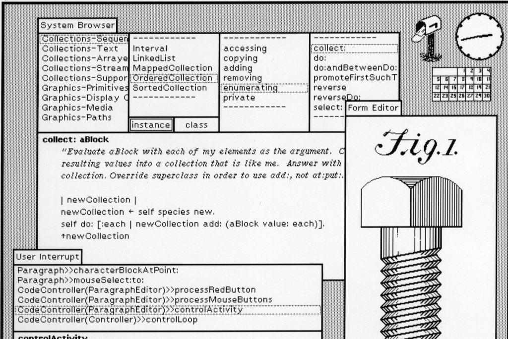 Xerox Alto Interface