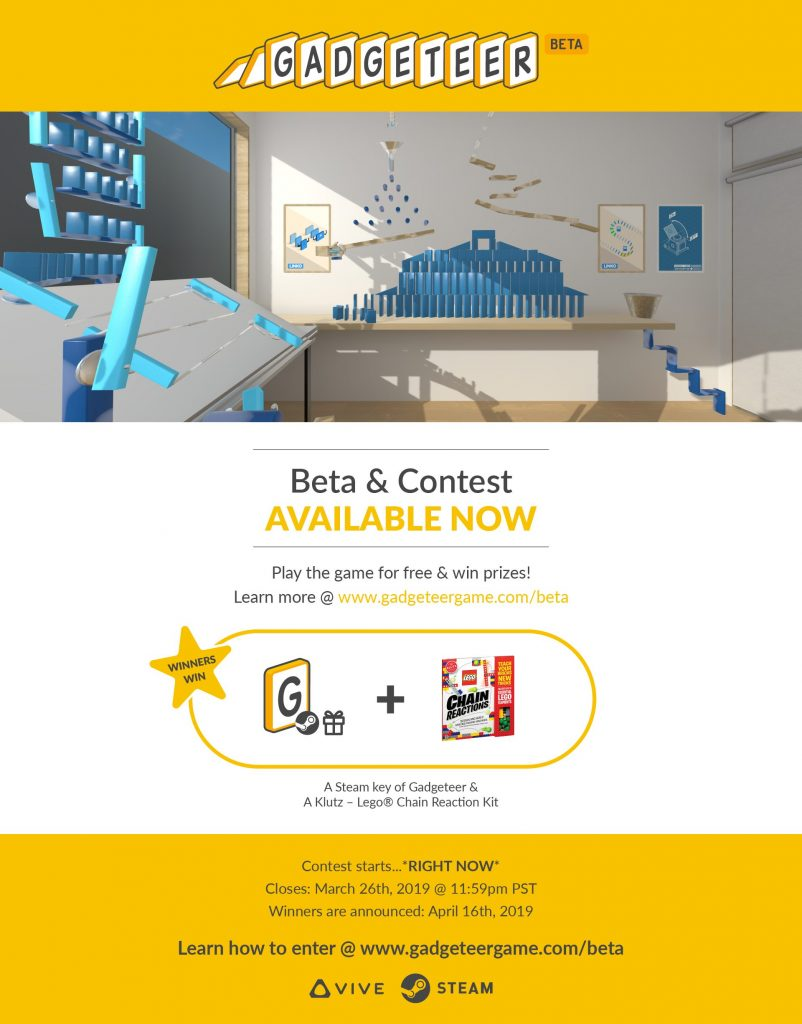 Gadgeteer Beta Contest Details